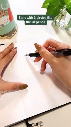 Art Drawings Sketches Simple, Pencil Art Drawings, Cool Drawings, Drawing Skills, Drawing Techniques, Flower Art Drawing, Art Painting Gallery, Diy Canvas Art, Doodle Art