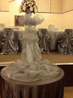 Cake Table Centerpiece