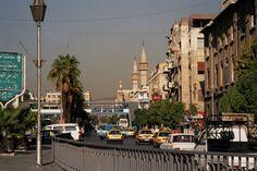 Thawra street Damascus