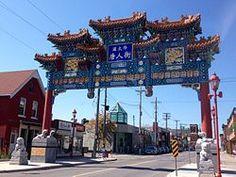 Skyline of Chinatown Ottawa, Big Ben, Destinations, Skyline, Travel, Viajes, Traveling, Trips, Travel Destinations