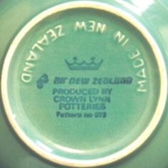 Crown Lynn // Air New Zealand Spring Song, Air New Zealand, Kiwiana, Color Glaze, The Beautiful Country, Aqua, Pottery, Crown, Mugs