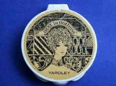 Rare Vintage Yardley Powder Compact by Olyvia