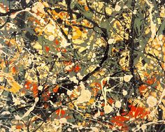 Number-8   by Jackson Pollock