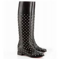 Our Christian Louboutin shop will offer you cheap Christian Louboutin Boots Meneboot Flat Studded Black Suede. It is a must to provide fast shipping of each purchase. If you're find christian louboutin shoes, I'm sure it is your appropriate web store you are looking at Christian Louboutin Boots Meneboot Flat Studded Black Suede. Here you will definitely get the quality guaranteed wedding shoes.