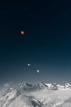 Alpin Ballooning by Andre Becker want to do this next fall...