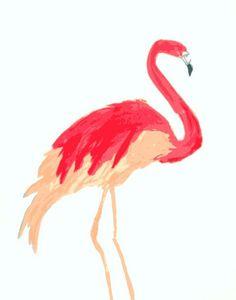Pôster pra fazer download grátis. Flamingo