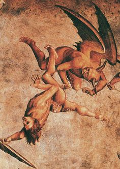 The Last Judgement (detail) by Luca Signorelli