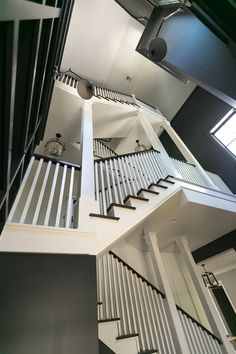 open concept living and three story staircase Custom Home Builders, Custom Homes, Charleston Homes, Modern Farmhouse Design, Dream Home Design, Coastal Homes, House Goals, Home Fashion, Room Decor Bedroom
