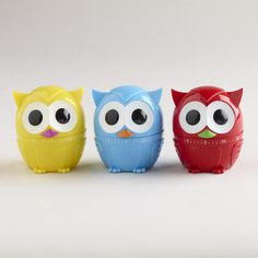 One of my favorite discoveries at WorldMarket.com: Owlet Timers, Set of 3