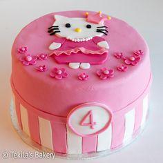 Hello Kitty cake #hellokitty #hellokittycake www.tekila.fi