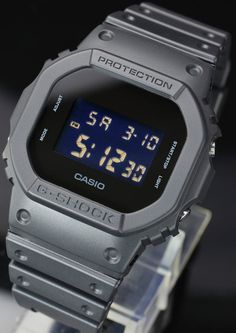 6016230cd83 RARE Japonese Limited Edition Casio G Shock Solid Colors DW 5600BB 1JF  Vintage