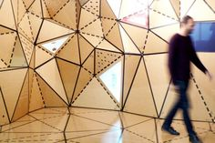 CartonLAB Creates High-Design Structures out of Humble #Cardboard | Inhabitat / #paper