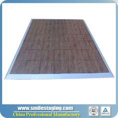 462x462x25mm Grained PVC Dance Floor
