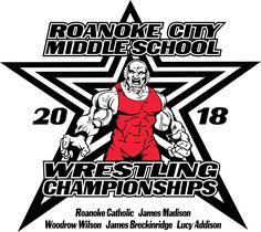 Roanoke Catholic MS Wrestling Event Saturday Jan 27, 2018