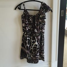 Dress Printed dress. Worn once Dresses Mini