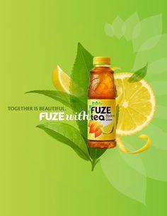 fuze tea AD - Google 搜尋