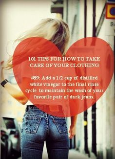 Take care of your favorite clothing items with these must-read tips & tricks!