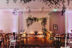 An intimate + minimalist wedding ceremony setup at South Congress Hotel in Austin, TX. Wedding Boxes, Wedding Stuff, Dream Wedding, Wedding Day, Austin Hotels, Intimate Wedding Ceremony, Eclectic Wedding, Function Room, Austin Tx