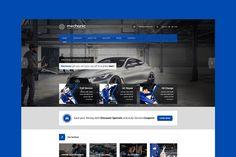 Mechanic - Car repair WordPres Theme by ThemeShop on @creativemarket