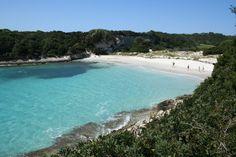 Belle plage de Sperone