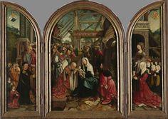 The Adoration of the Magi, Jacob Cornelisz. van Oostsanen, 1517, Rijksmuseum Amsterdam