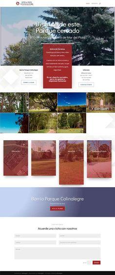siti realizado con wordpress Desktop Screenshot, Wordpress, Mar Del Plata, Web Design, Parks