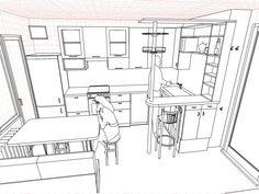 Кухня 12 кв. м.