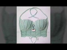 Cropped sereia de Croche - YouTube