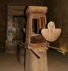 Sacred Boat Of The Falcon - God Horus. Edfu, Egypt. Travels & Tours Pictures, Photos, Images, Information, & Reviews.