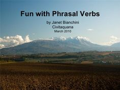 Fun With Phrasal Verbs