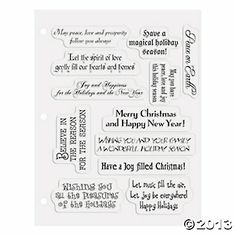 Card poems christmas card sayings verses for christmas cards christmas card sayings clear stamps m4hsunfo