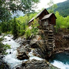 Crystal Mill, near Marble Colorado is a beautiful place. Wonderful Places, Beautiful Places, Milling, Colorado Hiking, Colorado Rockies, Colorado Homes, Outdoor Photography, Landscape Photography, Crested Butte