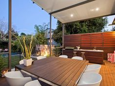 Indoor-outdoor outdoor area ideas