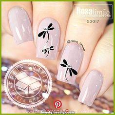 45 types of makeup nails art nailart 58 - nail art Spring Nail Art, Nail Designs Spring, Spring Nails, Nail Art Designs, Pedicure Designs, Fancy Nails, Cute Nails, Pretty Nails, Nail Manicure