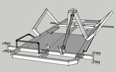 How to build a go kart frame from the go kart plans. Arrange the steel tubing on your workbench, tack weld the joints together, and weld between the tacks. Racing Go Kart Frame, Kart Racing, Go Kart Frame Plans, Go Kart Plans, Build A Go Kart, Diy Go Kart, Triumph Motorcycles, Go Kart Chassis, Drift Kart