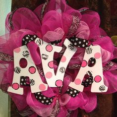 baby wreaths | Baby wreath personalized Check out my other wreaths on Facebook ...