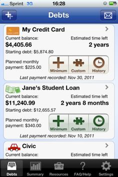 Here's an awesome app to help you pay off debt
