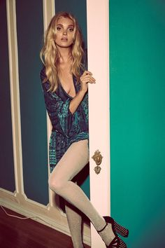 For Love & Lemons features the J'adore mini dress in its holiday 2016 line