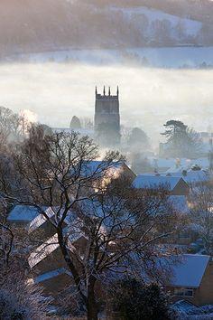 ~Wotton in winter, Gloucestershire~