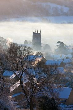 ~Wotton in winter, Gloucestershire~