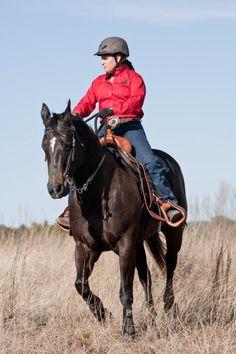 Horse Master Julie Goodnight wearing the Troxel Rebel Cross #helmet. http://www.troxelhelmets.com/products/rebel