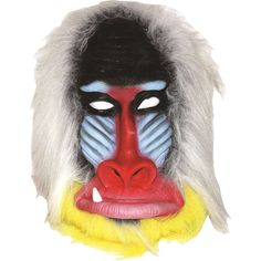 Amazon.com: Baboon Monkey Latex Mask: Costume Masks: Clothing