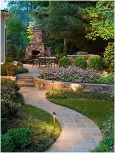 Enchanting Backyard Landscaping Ideas 57