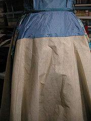 chapman skirt, pellon stiffening