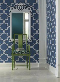 Serendipity Wallpaper design by York Wallcoverings