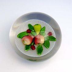 Antique Saint Louis Fruit paperweight.