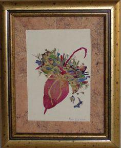 Pressed Flower Art by Mirjana Jezdimirovic