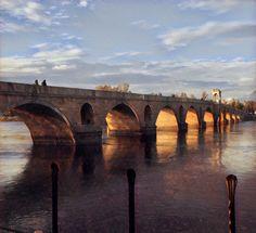 Meric bridge Edirne