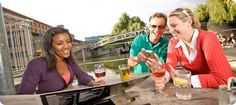 From the River Thames to the Regent's Canal, London has more waterside pubs and restaurants than anywhere else in Britain.  www.canalrivertrust.org.uk