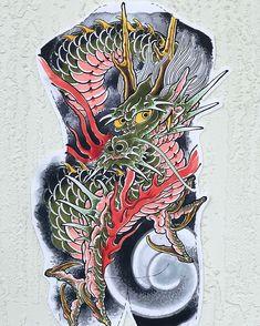 Peony study on Rice paper! Japanese Dragon, Japanese Art, Japanese Back Tattoo, Japan Tattoo Design, Traditional Japanese Tattoos, Asian Tattoos, Band Tattoo, Irezumi, Tattoo Designs